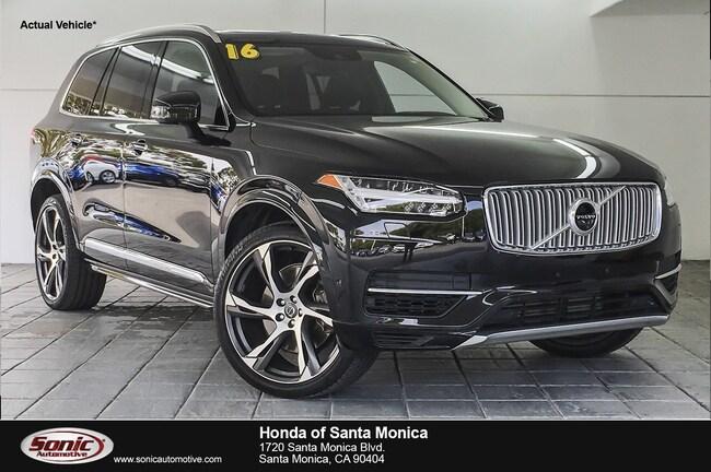 used 2016 volvo xc90 hybrid t8 inscription for sale in santa monica
