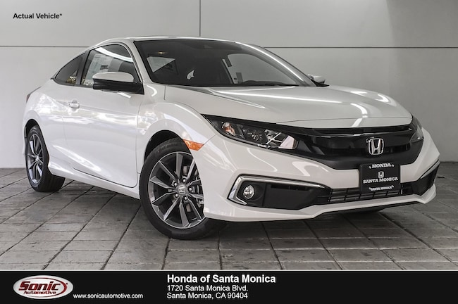 New 2019 Honda Civic EX Coupe in Santa Monica