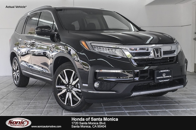 New 2019 Honda Pilot Elite AWD SUV in Santa Monica