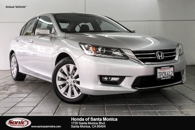 Used 2015 Honda Accord EX-L V-6 Sedan in Santa Monica