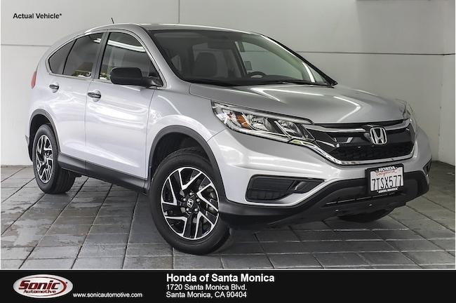 Used 2016 Honda CR-V SE FWD SUV in Santa Monica