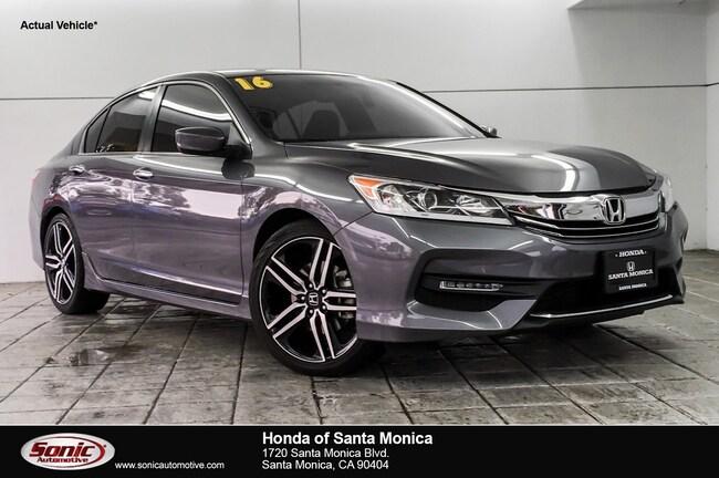 Used 2016 Honda Accord Sport Sedan in Santa Monica