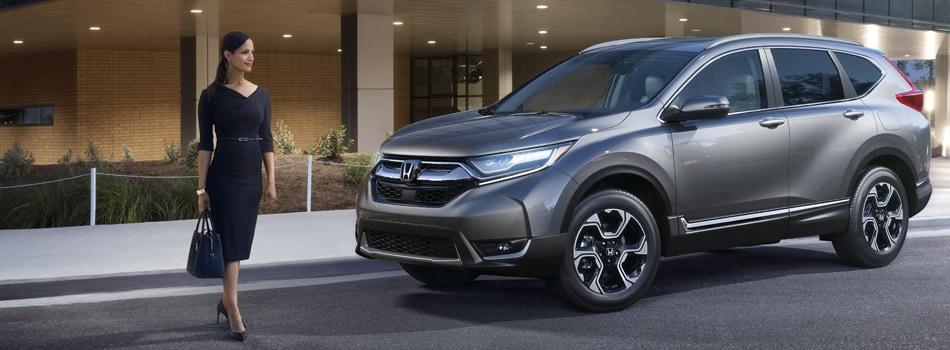 New 2018 Honda CR V