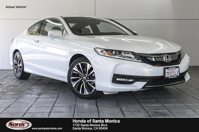 Used 2016 Honda Accord EX-L Coupe in Santa Monica