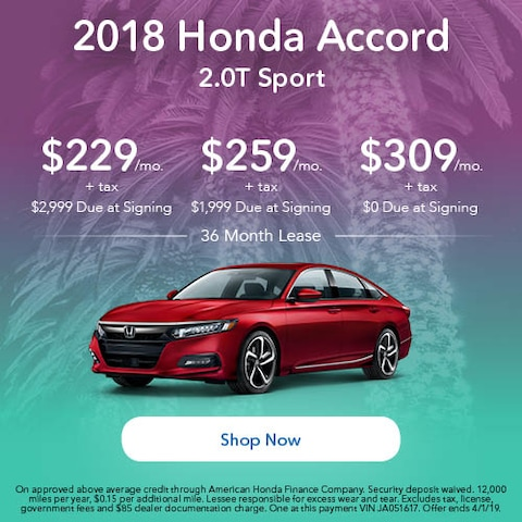 2018 Honda Accord Sport - March