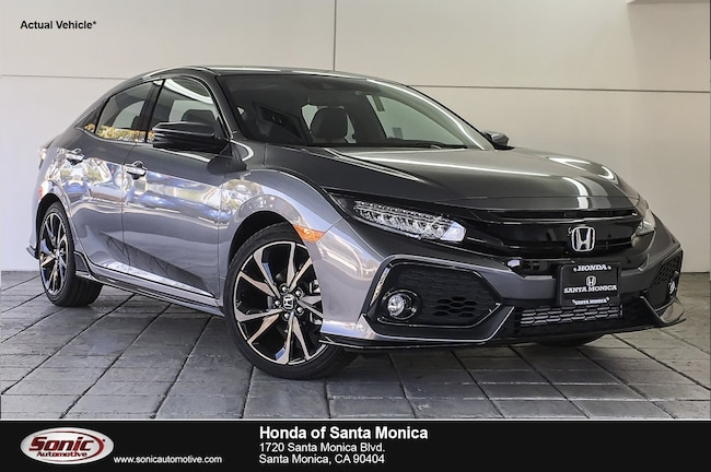 New 2019 Honda Civic Sport Touring Hatchback in Santa Monica