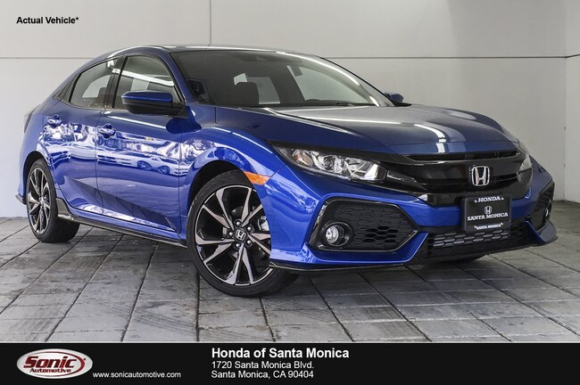 New 2019 Honda Civic Sport Hatchback in Santa Monica