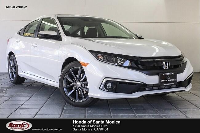 New 2019 Honda Civic EX Sedan in Santa Monica