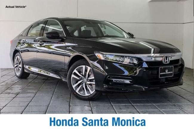 New 2019 Honda Accord Hybrid Touring Sedan Car in Santa Monica