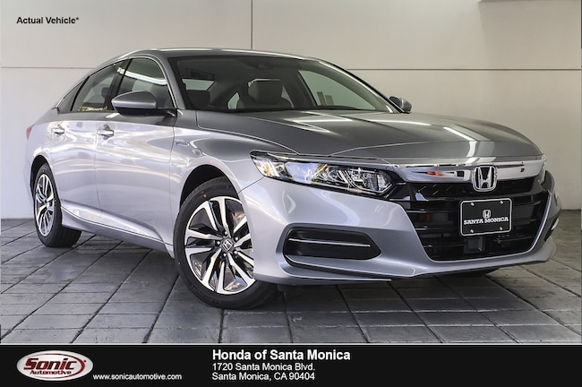 New 2019 Honda Accord Hybrid Sedan in Santa Monica