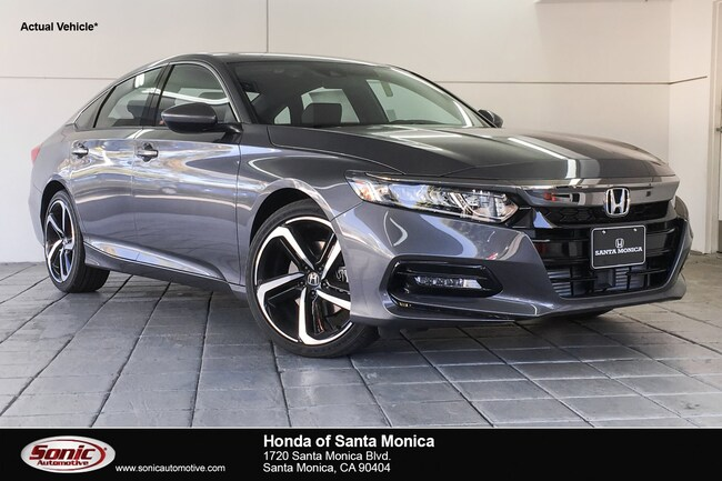 New 2019 Honda Accord Sport Sedan in Santa Monica