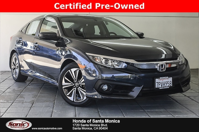 Certified 2016 Honda Civic EX-T Sedan in Santa Monica