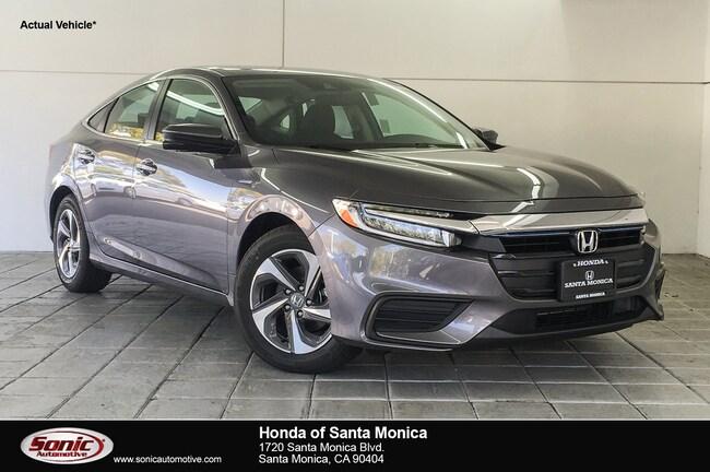 New 2019 Honda Insight EX Sedan in Santa Monica