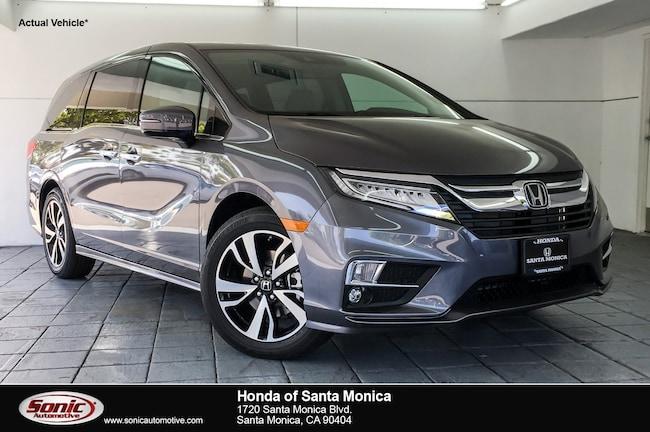 New 2019 Honda Odyssey Elite Van in Santa Monica