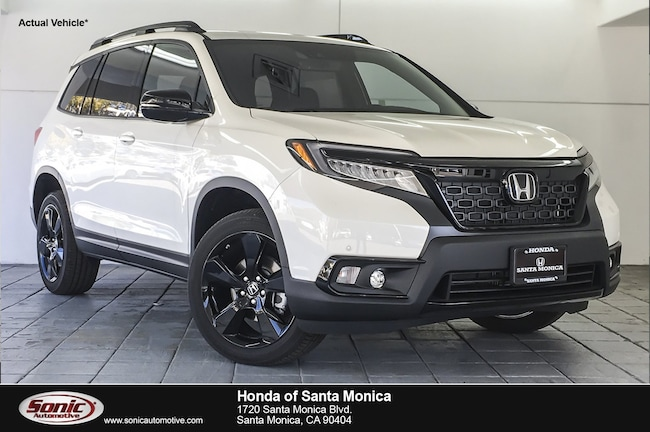 New 2019 Honda Passport Elite AWD SUV in Santa Monica