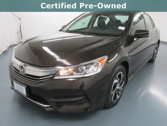 Certified 2016 Honda Accord LX w/Honda Sensing Sedan in Santa Monica