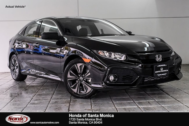 New 2019 Honda Civic EX-L w/Navi Hatchback in Santa Monica