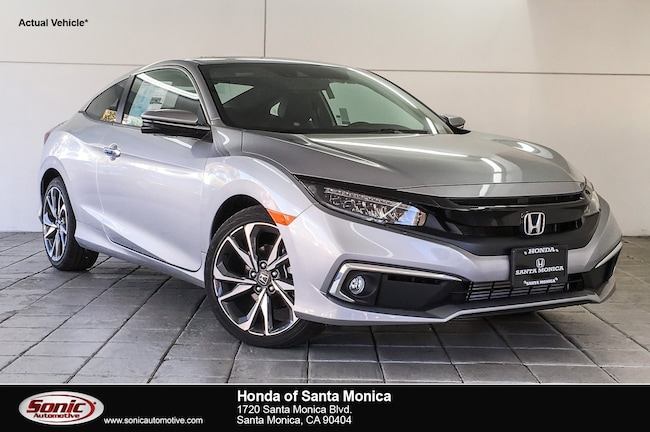 New 2019 Honda Civic Touring Coupe in Santa Monica
