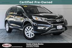 Certified 2016 Honda CR-V EX-L FWD SUV in Santa Monica