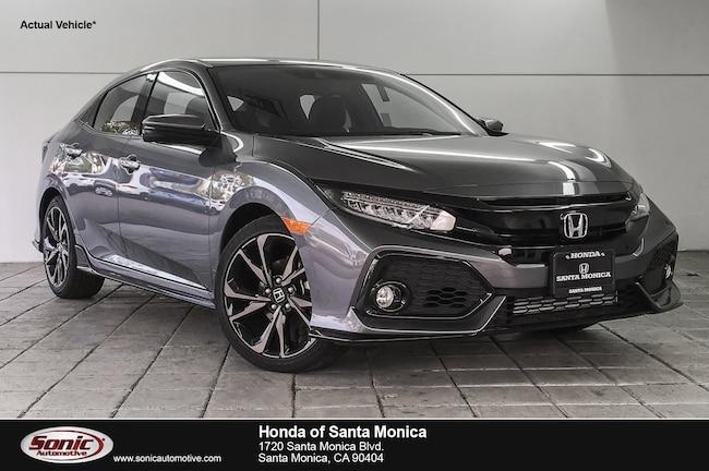New 2019 Honda Civic Sport Touring Hatchback in Santa Monica