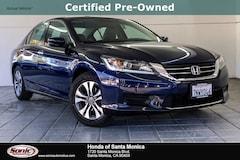 Certified 2015 Honda Accord LX Sedan in Santa Monica