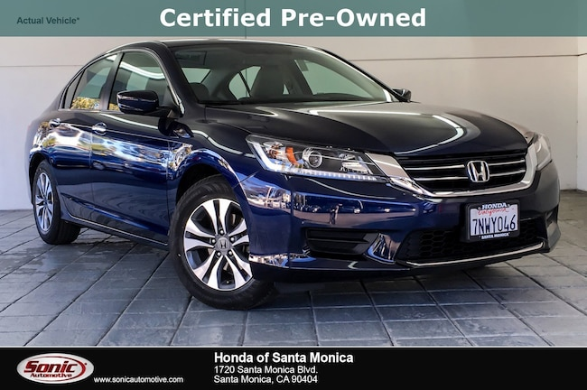 Certified 2015 Honda Accord LX Sedan in Santa Monica