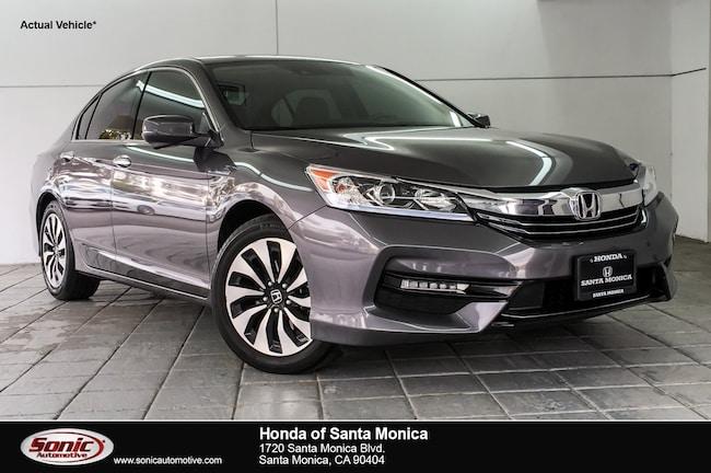 Used 2017 Honda Accord Hybrid EX-L Sedan in Santa Monica