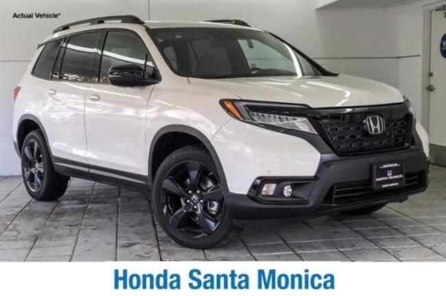 New 2019 Honda Passport Elite AWD Sport Utility in Santa Monica