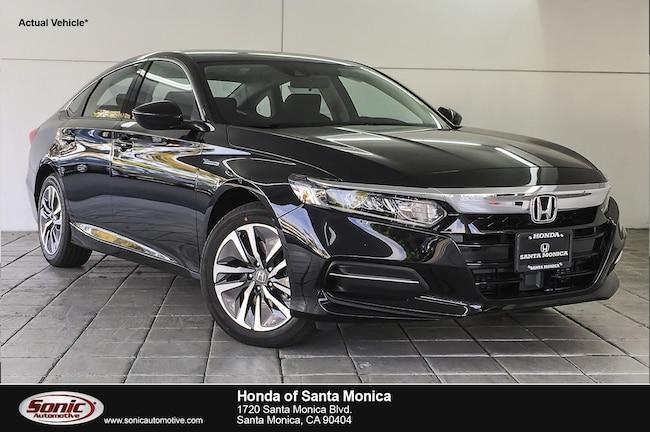 New 2019 Honda Accord Hybrid Base Sedan in Santa Monica