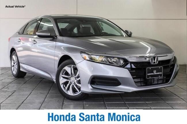 New 2019 Honda Accord LX 1.5T CVT Car in Santa Monica