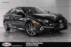 New 2019 Honda Civic EX Sedan in Santa Monica