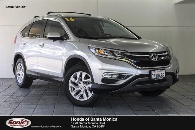Used 2016 Honda CR-V EX-L AWD SUV in Santa Monica