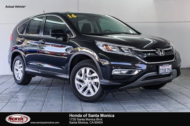 Used 2016 Honda CR-V EX FWD SUV in Santa Monica