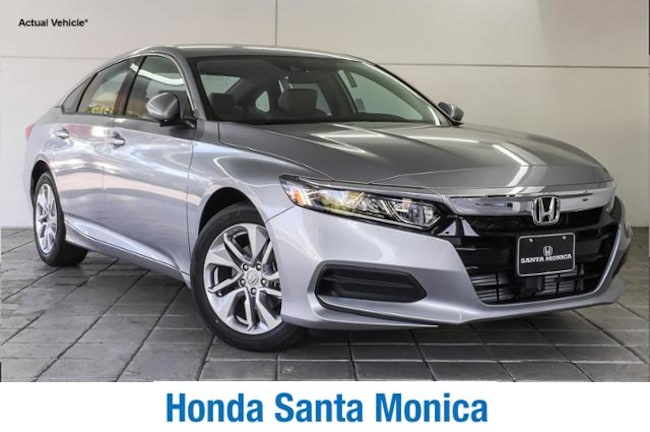 New 2019 Honda Accord LX 1.5T CVT Car in Santa Monica