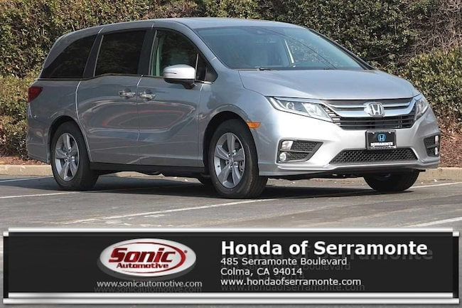 New 2019 Honda Odyssey EX-L w/Navigation & RES Van in the Bay Area