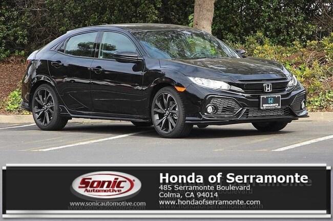 New 2019 Honda Civic EX-L w/Navi Hatchback in the Bay Area