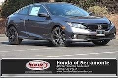 New 2019 Honda Civic Sport Coupe serving San Francisco