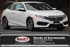 New 2018 Honda Civic LX-P Coupe serving San Francisco