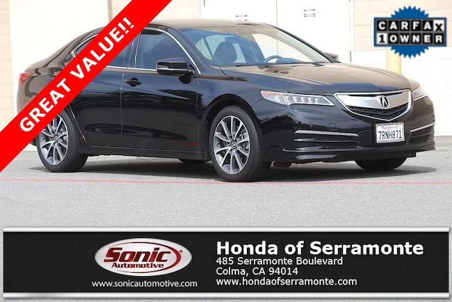 Used 2016 Acura TLX TLX 3.5 V-6 9-AT P-AWS with Technology Package Sedan in the Bay Area