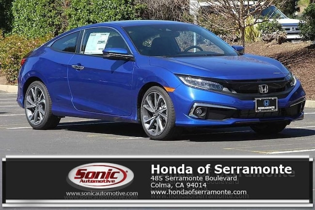 New 2019 Honda Civic Touring Coupe in the Bay Area