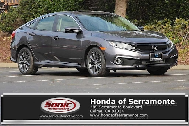 New 2019 Honda Civic EX Sedan in the Bay Area