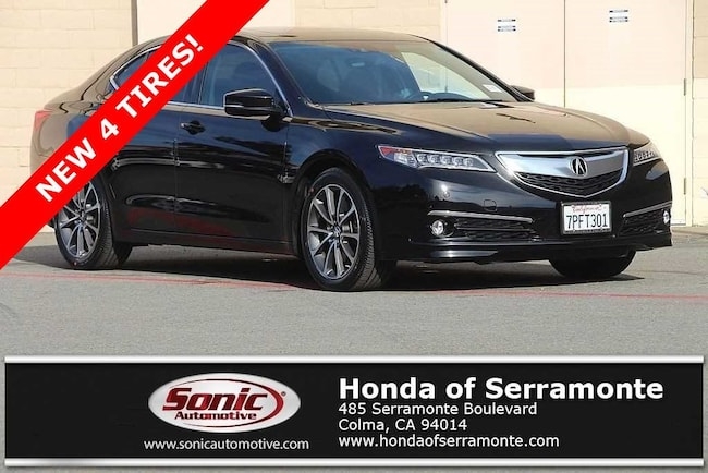 Used 2015 Acura TLX TLX 3.5 V-6 9-AT P-AWS with Advance Package Sedan in the Bay Area