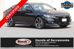 Certified 2018 Honda Accord Sport 2.0T Sedan in Hayward, CA