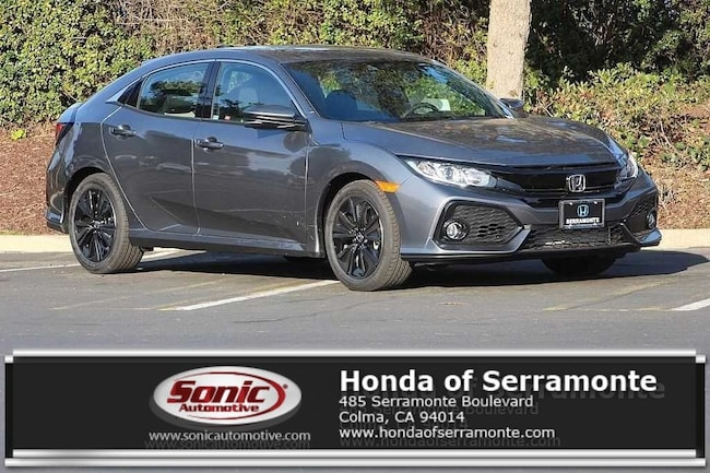New 2019 Honda Civic EX Hatchback in the Bay Area
