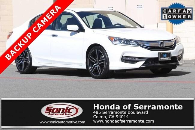Used 2017 Honda Accord Sport SE Sedan in the Bay Area