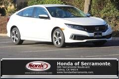 New 2019 Honda Civic LX Sedan serving San Francisco