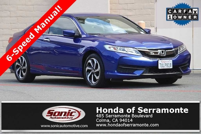 Used 2016 Honda Accord LX-S Coupe in the Bay Area