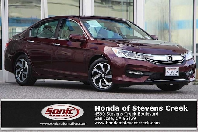 Used 2016 Honda Accord EX-L Sedan in San Jose