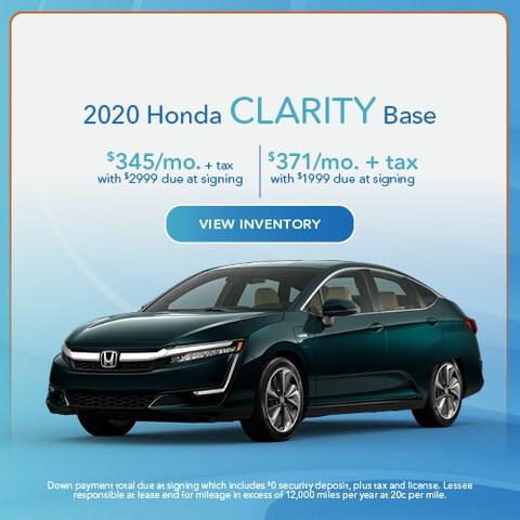 2020 Honda Clarity Base