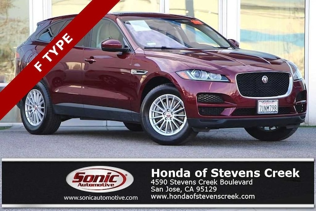Used 2017 Jaguar F-PACE 35t SUV in San Jose